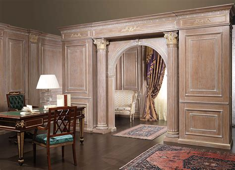boiserie  doors  project vimercati classic furniture