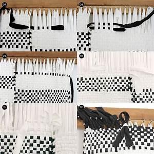 Teppich Knüpfen Vorlagen : teppich selber machen schwarz weiss weben anleitung diy jessi 39 s pinterest weben basteln ~ Eleganceandgraceweddings.com Haus und Dekorationen