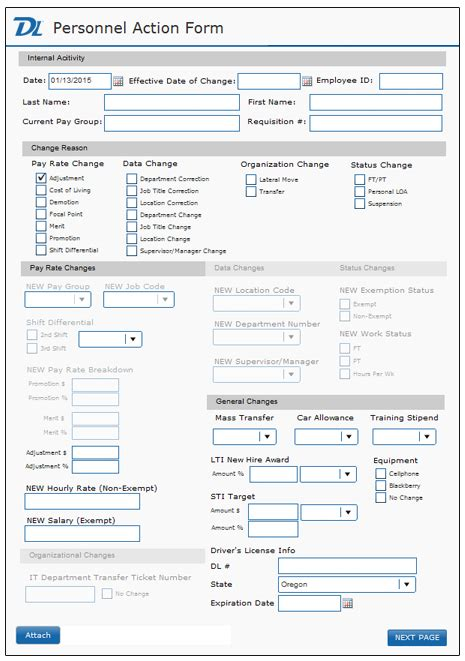 electronic forms for easy form processing document locator