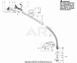Poulan Pp036 Gas Trimmer  036 Gas Trimmer Parts Diagram