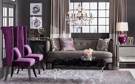 Wohnzimmer Grau Lila by 75 Lively Purple Living Room Photos 2018 Shutterfly