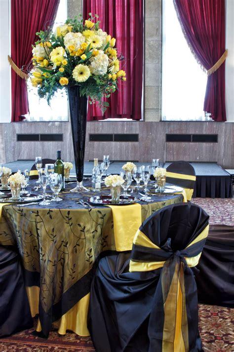 black  yellow wedding decor love    grey