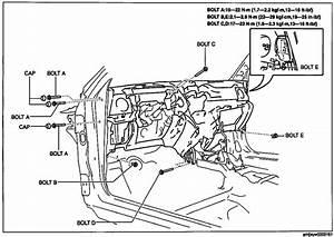 Mazda 6 2009 Dash Removal