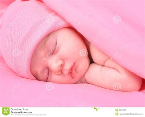 Newborn Baby Girl Sleeping With Blanket And Hat Royalty Free Stock Photography How To Make A Blanket Out Of Old Tee Shirts Print My Picture On Customizable Baby Blankets Canada Dragon Ball Z Fabric King Size Cotton With Satin Trim Electric For Pets Nz Best Pigs In Recipe Monster Energy Drink Fleece