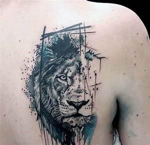Tatuajes de leones para hombres, mujeres y sus diferentes significados