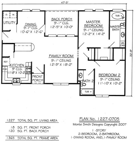 2 bedroom 1 bath house plans two bedroom two bathroom house plans studio design