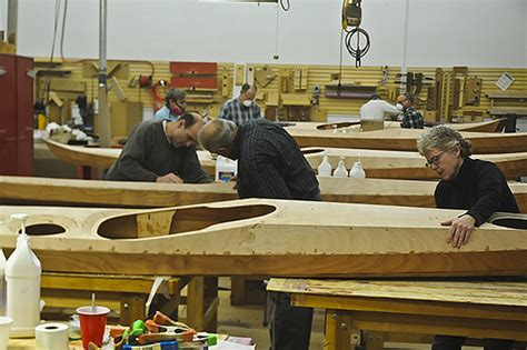 boat building techniques guillemot kayaks small wooden