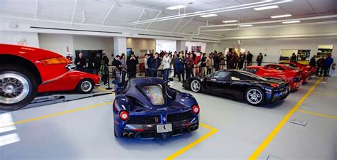 All Five Ferrari Supercars In One Place, Revving Included