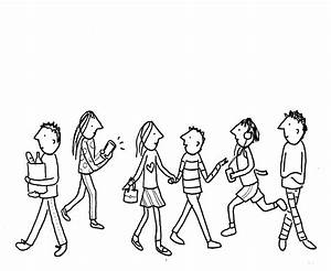 Cartoon Drawings Of People Step By Step | www.imgkid.com ...