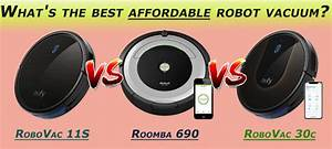 Eufy Robovac 11s Vs Robovac 30c Vs Roomba 690