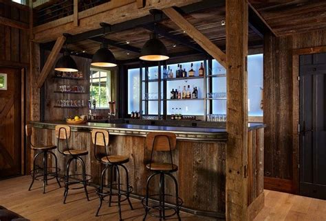 20 Of The Most Lavish Wooden Home Bar Designs