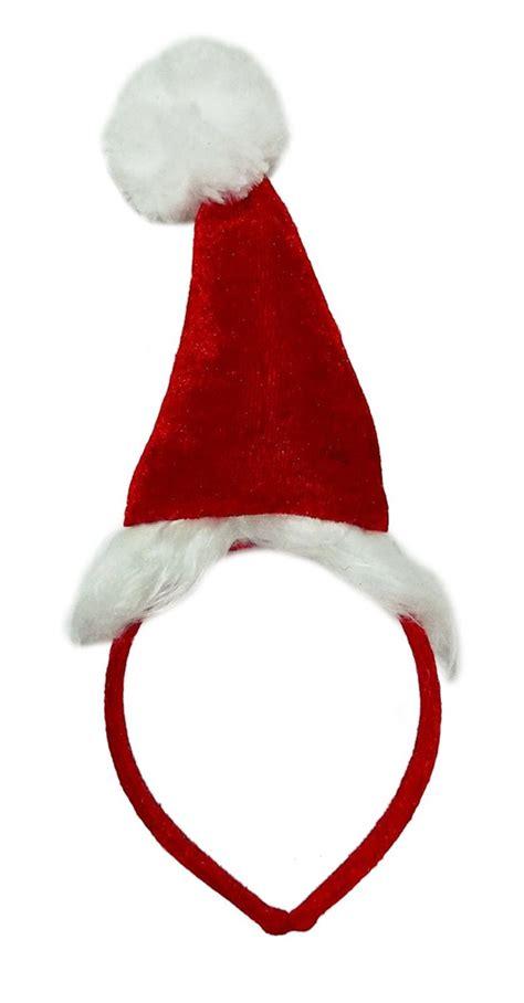 santa hat plush headband 333361 trendyhalloween com