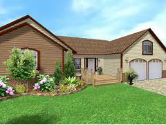Put A New Deck Onto The Front Of Your House Add Brick Facing Plant A Sprinkler Systems Potts Landscape Design Potts Landscape Design Gallery Of Amazing Simple And Colorful Landscaping Ideas Colonial Landscaping HD Wallpapers Colonial Landscaping