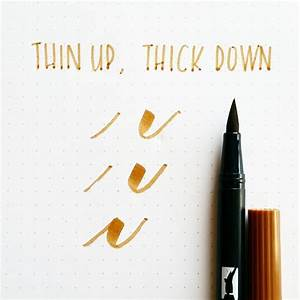 pin by tombow usa arts crafts products inspiration With brush lettering markers