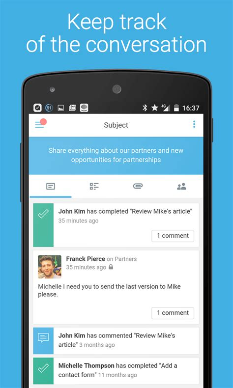 azendoo android english evernote app center