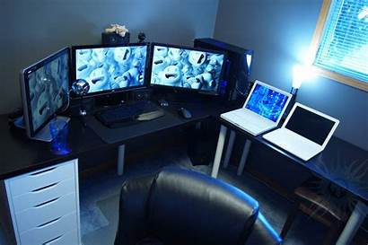 Setup Computer Office Workspace Amazing Pc Rooms