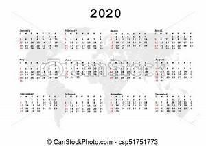 Mapa, calendário, 2020, agenda, mundo