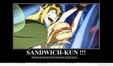 Sandwich Memes - otaku meme 187 anime and cosplay memes 187 obsession for sandwich kun