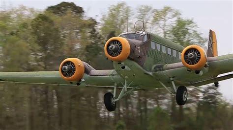 Junkers JU-52 Takeoff - YouTube