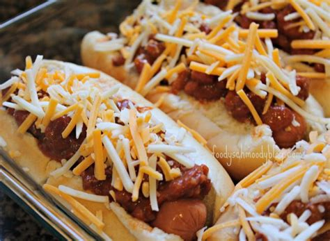 baked chili cheese dogs foody schmoody blog foody