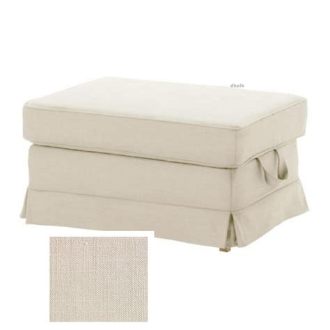 And Ottoman Covers by Ikea Ektorp Bromma Footstool Cover Ottoman Slipcover