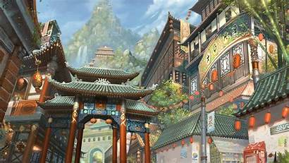 Japanese Wallpapers Painting Fantasy