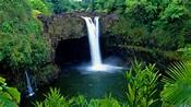 Beach feel freshness waterfall - Hawaii Wallpaper