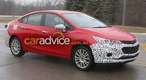 2017 Chevrolet/Holden Cruze Hybrid spied, Australia a hot