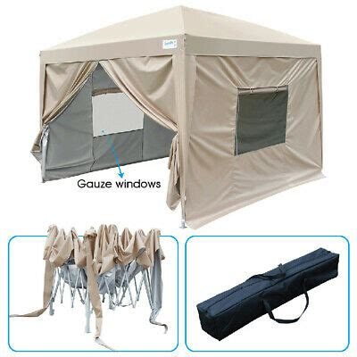 quictent  pop  canopy screen house tent  netting mesh sides  colors  picclick