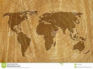 Carte Du Monde En Bois : carte du monde sur la surface en bois illustration stock illustration du concentrique ~ Teatrodelosmanantiales.com Idées de Décoration