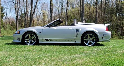 Silver 2000 Saleen S281-sc Ford Mustang Convertible