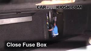Interior Fuse Box Location  2011-2017 Bmw X3