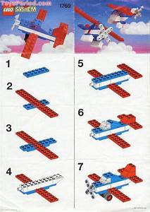 Lego 1769 Aircraft Set Parts Inventory And Instructions