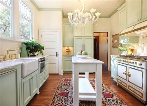 choose colorful rugs   dull kitchen