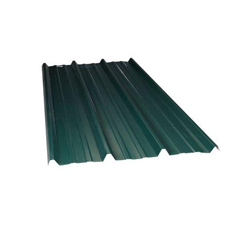 habillage de chaise plaque acier galvanisé vert 1 05 x 2m leroy merlin