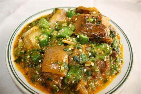 cuisine africaine sauce gombo avec kpanman cuisine africaine