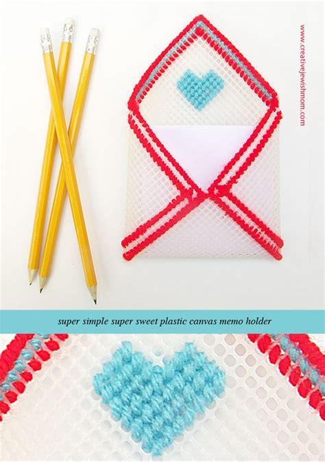 plastic canvas envelope memo holder creative jewish mom