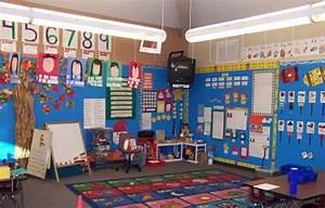 No wall should be empty in a preschool classroom ...