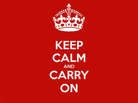 Keep Calm And Carry On Poster  Sergio  Keep Calmomatic