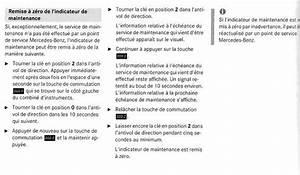 Remise A Zero : remise z ro compteur service b mercedes m canique lectronique forum technique ~ Medecine-chirurgie-esthetiques.com Avis de Voitures