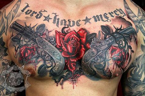 elephant rug best chest tattoos jaw dropping ink masterpieces