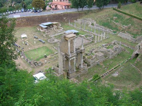 conoscenza  cultura la splendida etrusca volterra la