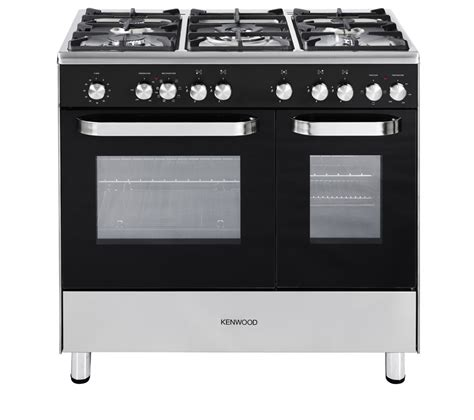 stoves dual fuel range cooker buy kenwood ck405 dual fuel range cooker black free delivery currys