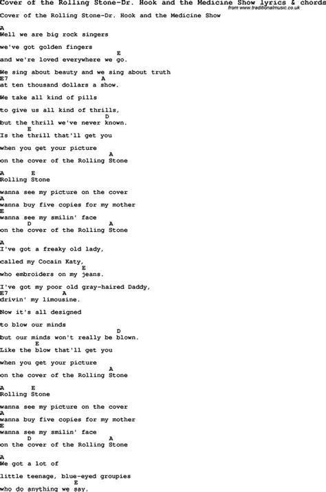 love song lyrics  cover   rolling stone dr hook