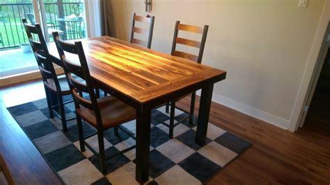 table de cuisine en bois table de cuisine sur mesure de tout style