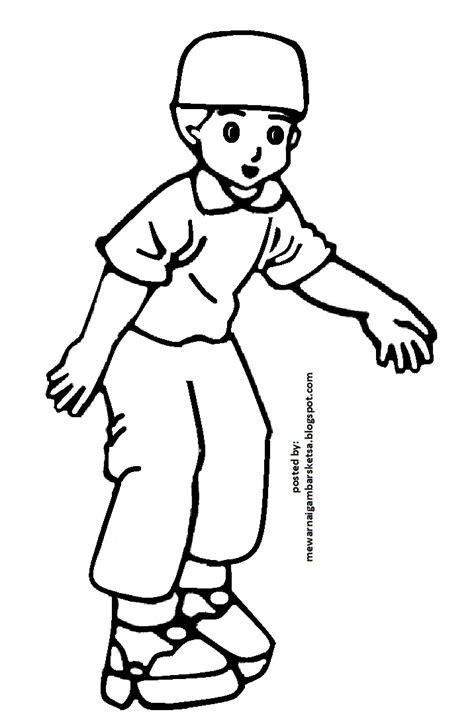84 contoh gambar sketsa muslimah cantik terkeren. Mewarnai Gambar: Mewarnai Gambar Sketsa Kartun Anak Muslim 51