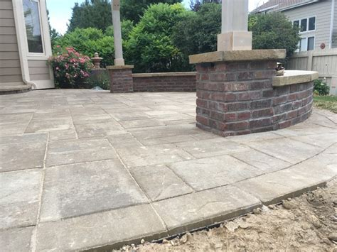 paver patios walkways and retaining walls traditional