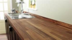 Plan Travail Massif : cuisine plan de travail de cuisine moderne fonc en ~ Premium-room.com Idées de Décoration