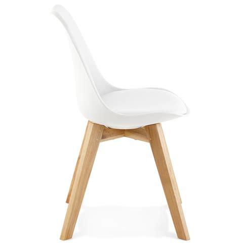 chaise moderne blanche chaise moderne teki blanche chaise scandinave