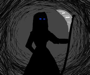 magic grim reaper drawception